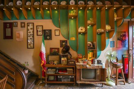 کافه موزه رشت