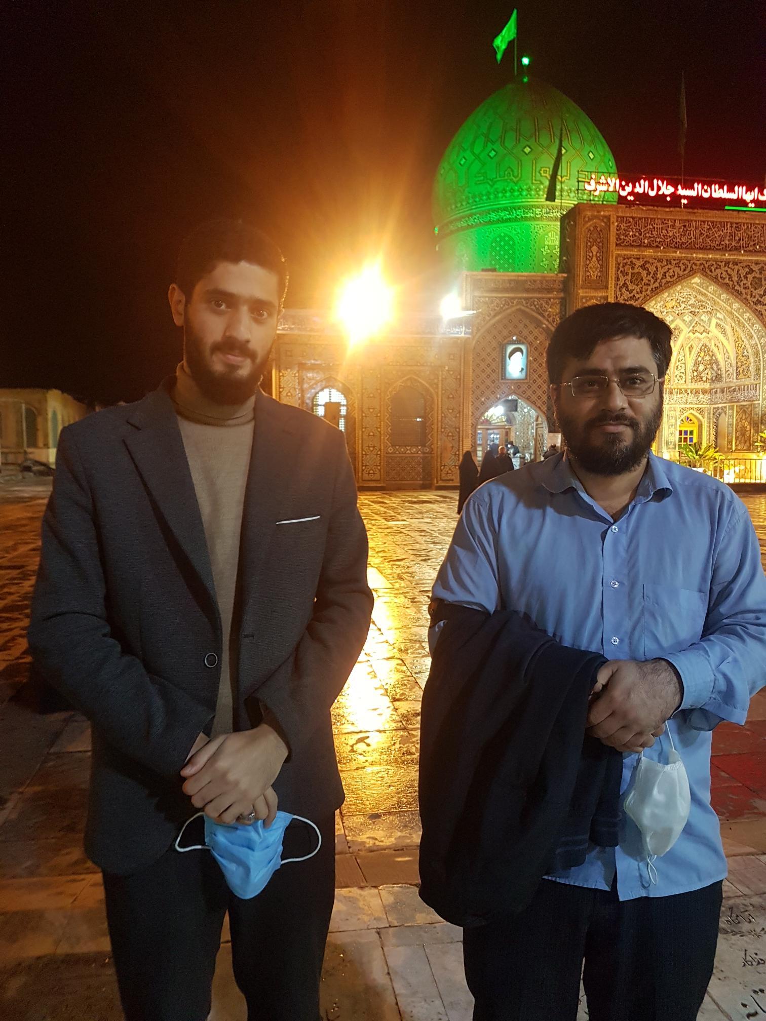 حرم آقا سید جلال الدین اشرف