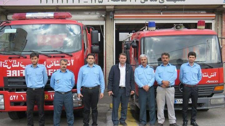 ایستگاه آتش نشانی شهرداری اسکو