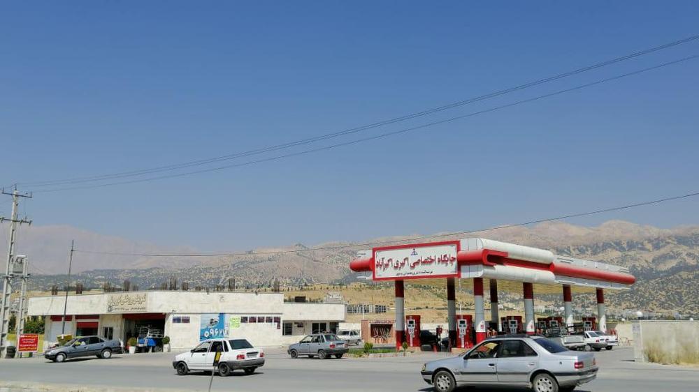 پمپ بنزین اکبری اکبرآباد