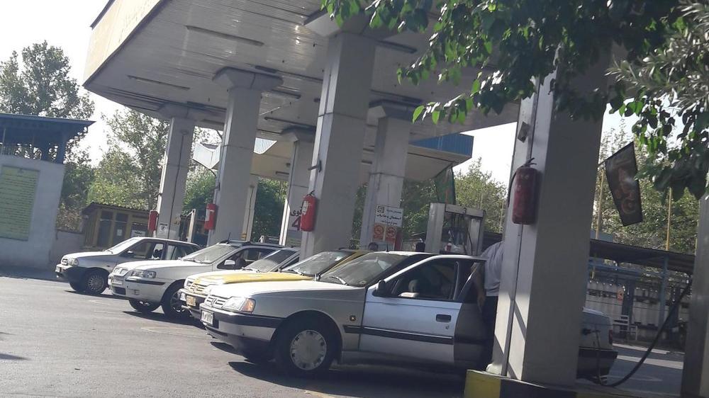 ایستگاه اتوبوس پمپ گاز