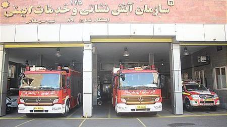 ایستگاه آتش نشانی ۸۹ شهید داداشی